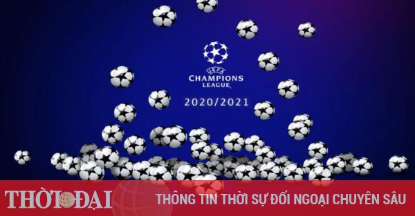 Cúp C1, Champions League 2020/2021: Lịch thi đấu, kết quả mới nhất