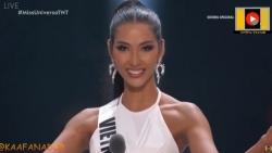 video hoang thuy noi tieng anh troi chay o chung ket miss universe 2019